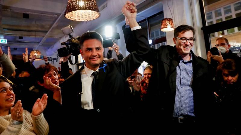 Hongaren kiezen één uitdager voor Orbán: Péter Márki-Zay