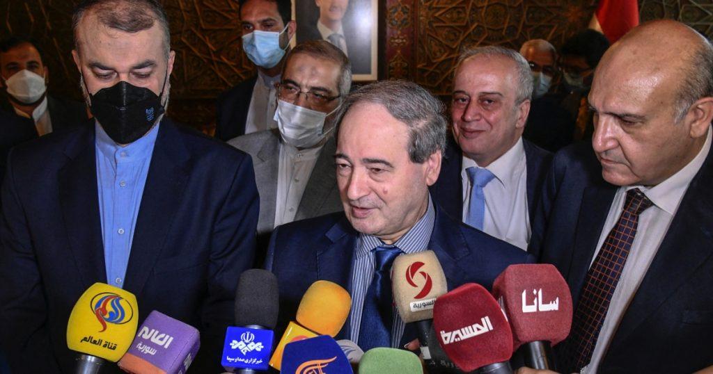 Iranian Foreign Minister holds talks with Syrian President Bashar al-Assad