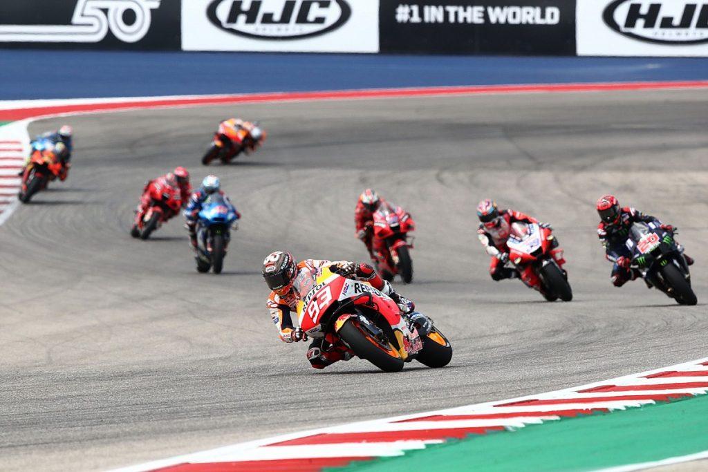 Marquez dominates until victory at United States GP