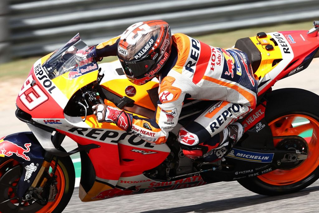 """Marquez surprised by speed in Kota: """"I did not drive well"""""""