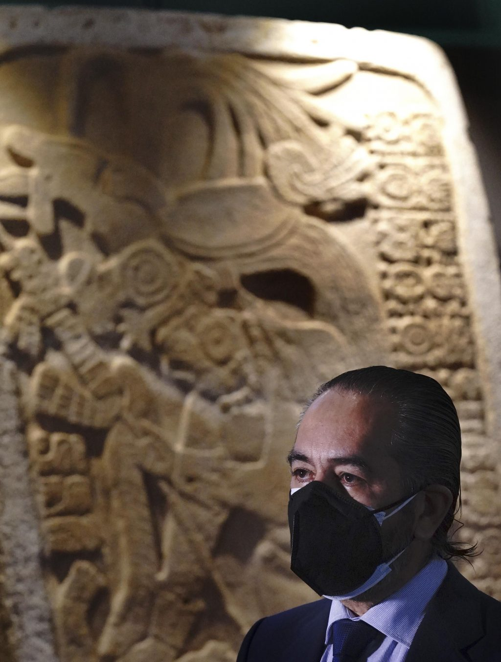 Mexico presents pre-Hispanic artefacts recovered abroad