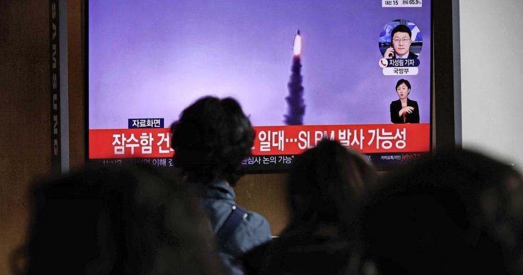 North Korea fires ballistic missile again    Abroad
