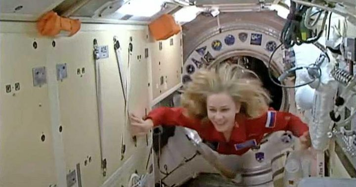Recordings ready, the Russian actress returns from space |  Abroad
