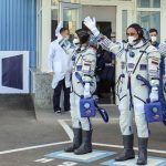 Russian actress returns from space station to Earth