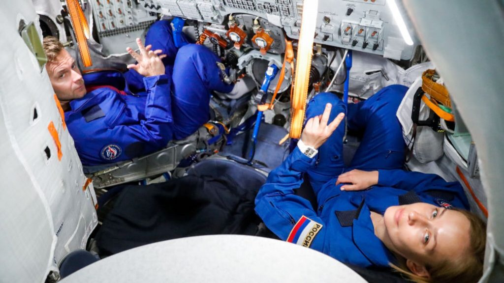 Russians to shoot feature film on ISS space station