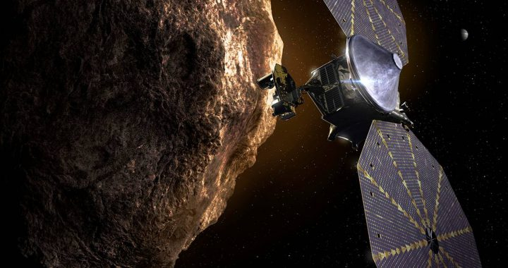 Space probe Lucy embarks on years of travel to the rocks near Jupiter |  Science