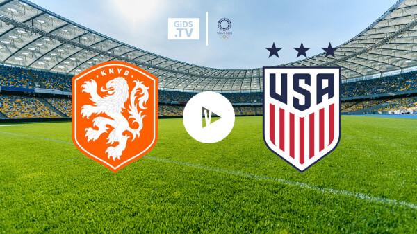 Summary Netherlands - United States (football, Olympics)