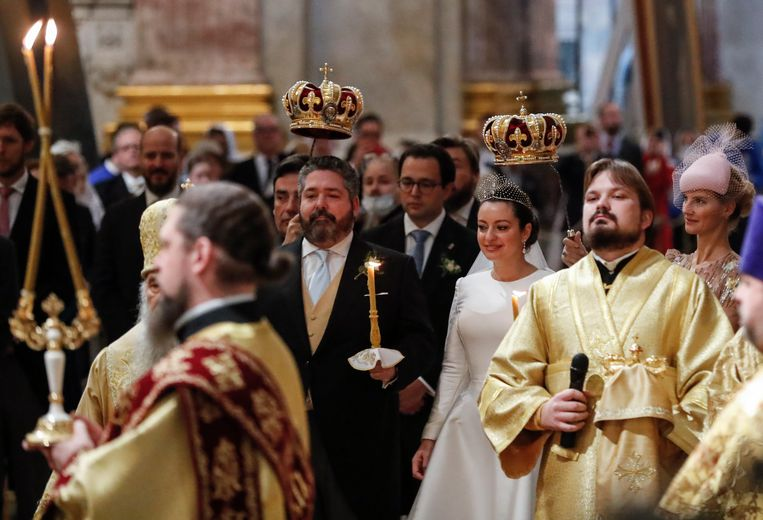 """The Romanovs are (somewhat) back: for the first time in 104 years, there was another """"royal"""" wedding in Russia"""