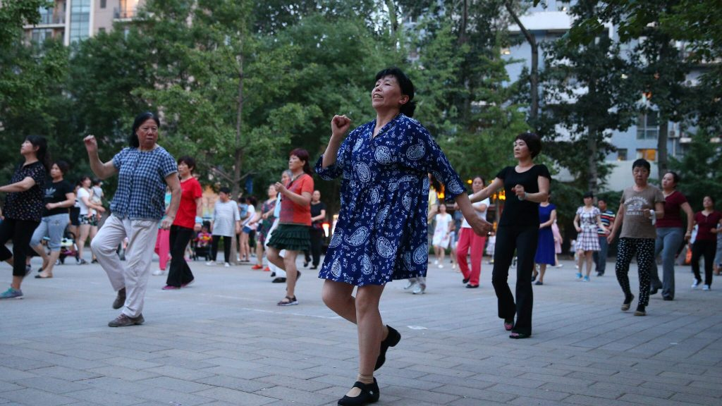 The remote control must silence the dancing grandmothers China