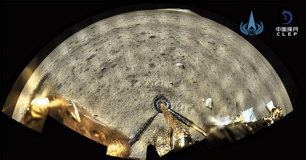 Two billion years ago there were still volcanoes on the moon