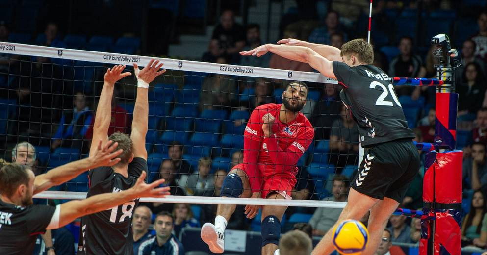 Volleyball: France with Slovenia and Germany at the 2022 World Cup