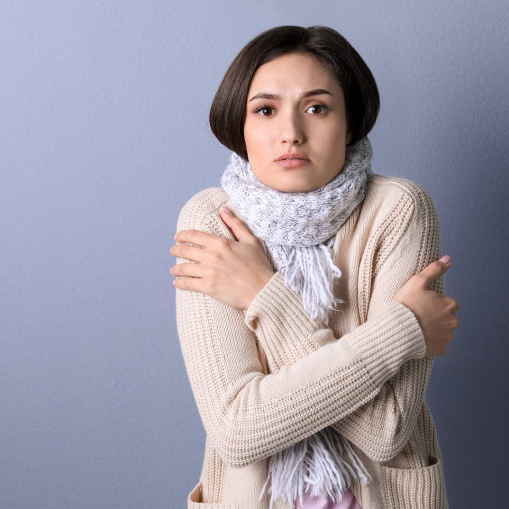 why women are colder than men